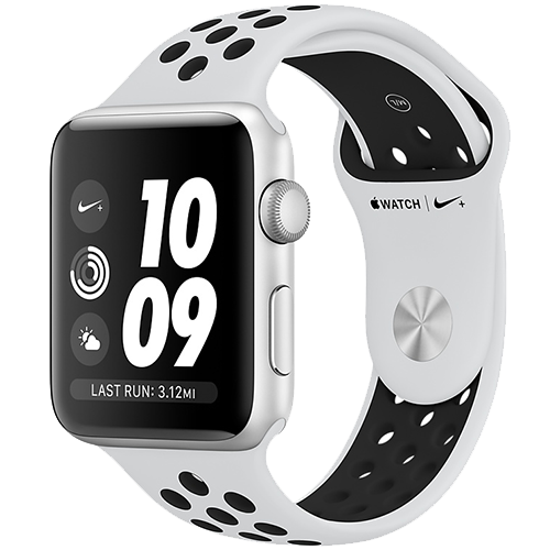 Watch Nike+ GPS Silver 38 mm