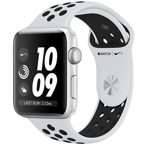 Watch Nike+ GPS Silver 42 mm