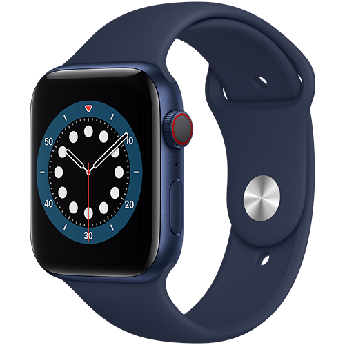 Apple Watch Series 6 GPS + Cellular 44 mm
