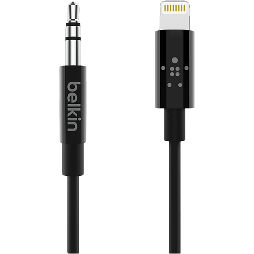 Belkin Lightning to 3.5mm -kaapeli