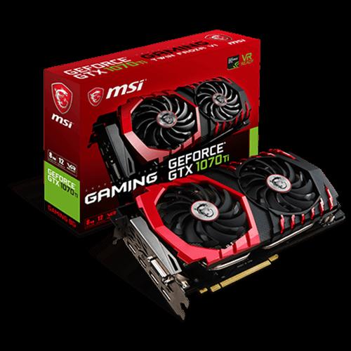GeForce GTX 1070Ti GAMING 8G -näytönohjain