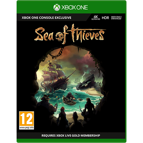 Xbox One Sea of Thieves -peli