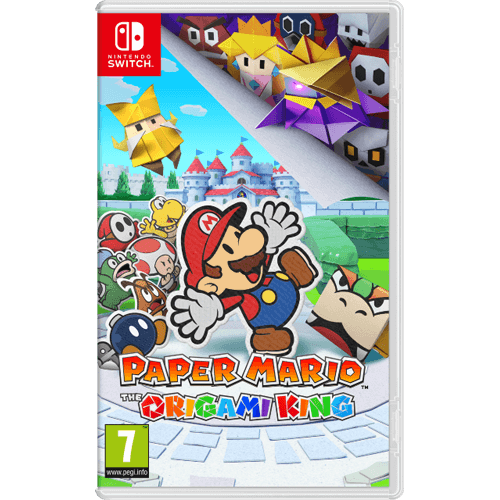 Nintendo Switch Paper Mario: The Origami King -peli