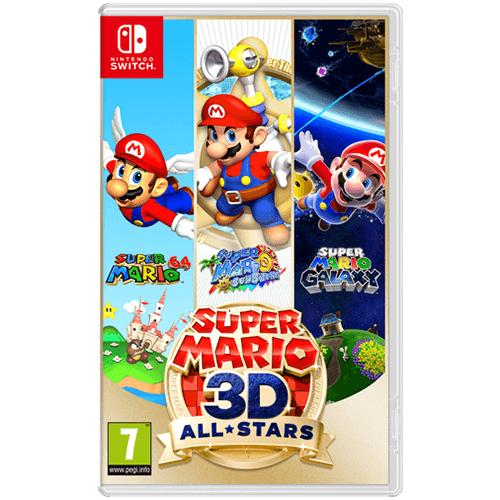 Nintendo Switch Super Mario 3D All-Stars -peli