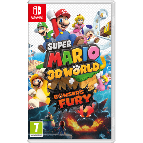 Nintendo Switch Super Mario 3D World + Bowser's Fury -peli