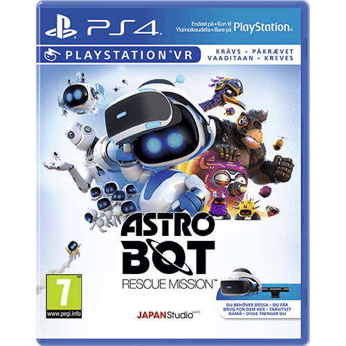 PS4 Astro Bot: Rescue Mission VR -peli