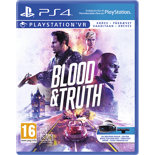 PS4 Blood & Truth VR -peli