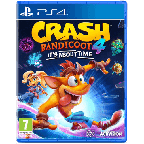 PS4 Crash Bandicoot 4 It's About Time -peli