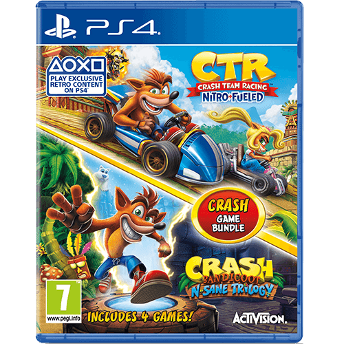 PS4 Crash Game Bundle -peli