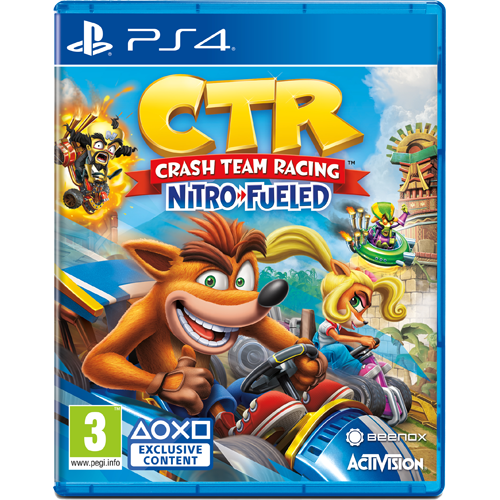 PS4 Crash Team Racing: Nitro-Fueled -peli
