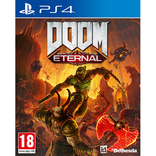 PS4 DOOM Eternal -peli