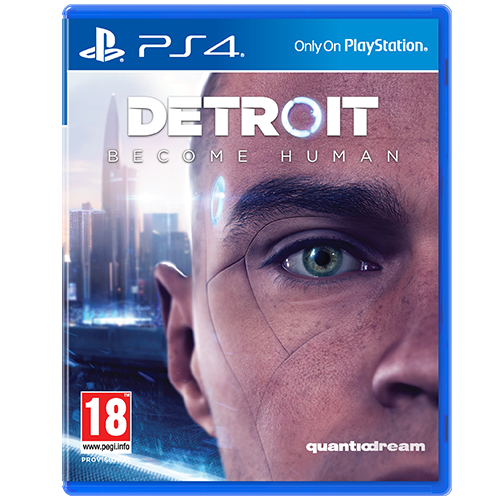 PS4 Detroit Become Human -peli