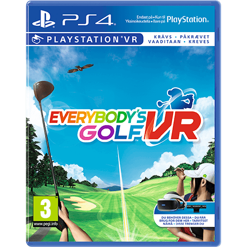 PS4 Everybody's Golf VR -peli