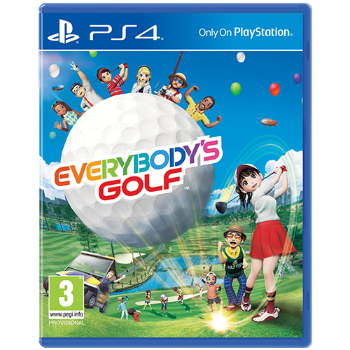 PS4  Everybody's Golf -peli
