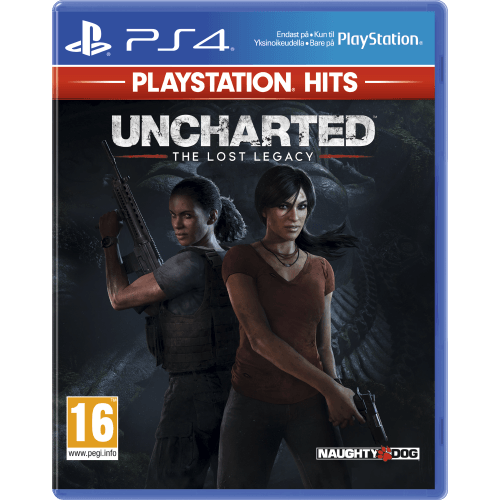 PS4 PS Hits Uncharted: The Lost Legacy -PS4-peli
