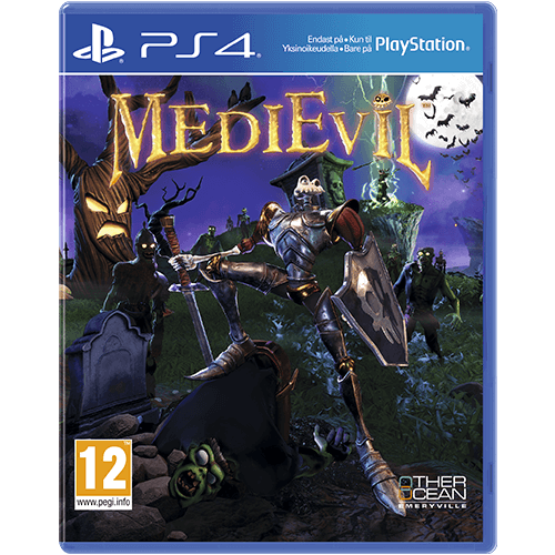 PS4 MediEvil -peli