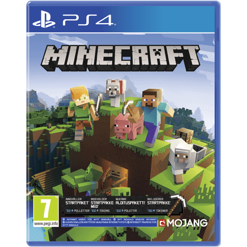 PS4 Minecraft Bedrock Edition -peli