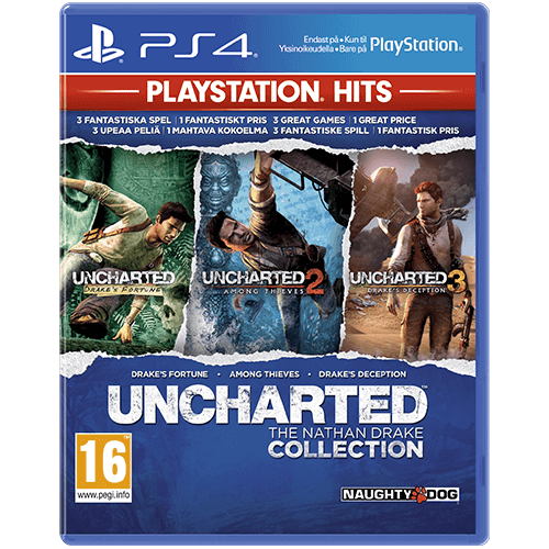 PS4 PS HITS Uncharted Collection