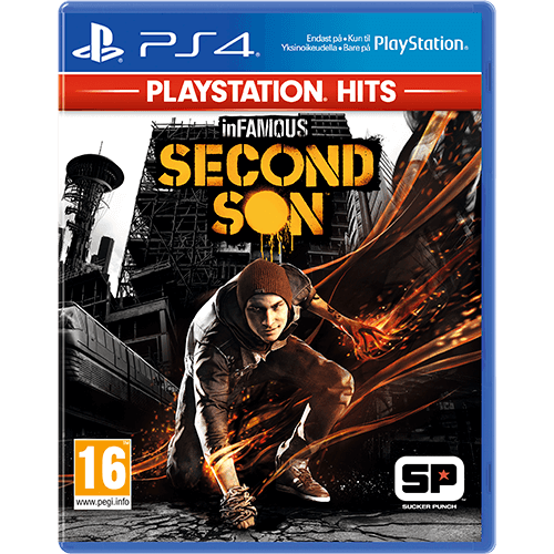 PS4 PS HITS inFamous: Second Son
