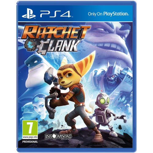 Ratchet & Clank -PS4-peli
