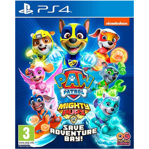 PS4 Ryhmä Hau - Mighty Pups Save Adventure Bay -peli