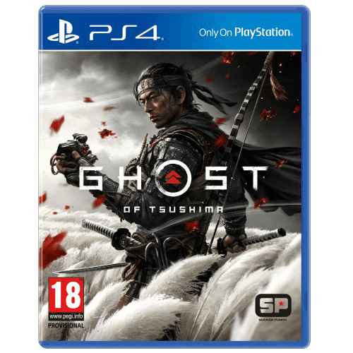 PS4 Ghost of Tsushima -peli