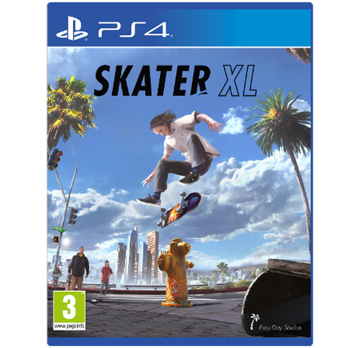 PS4 Skater XL -peli