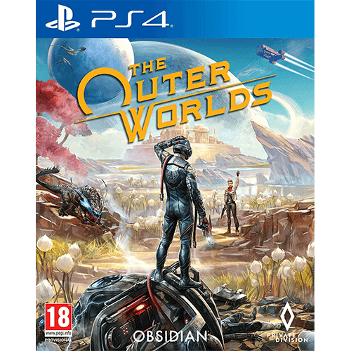 PS4 The Outer Worlds -peli