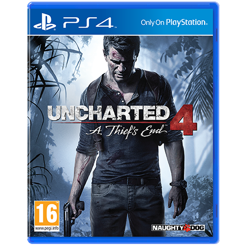 Uncharted 4 A Thief's End -peli