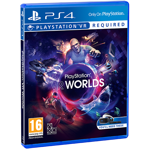 PS4 VR Worlds -peli