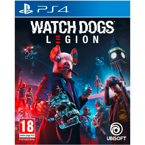 PS4 Watch Dogs: Legion -peli