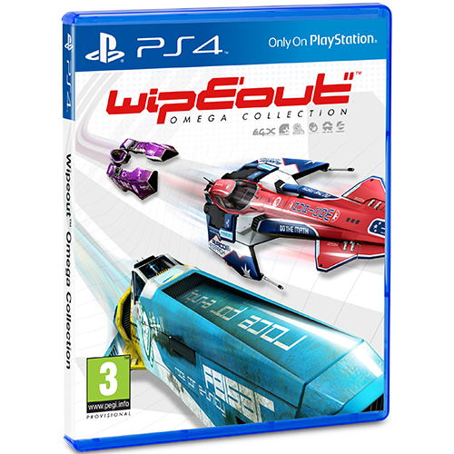 WipEout Omega Collection -peli
