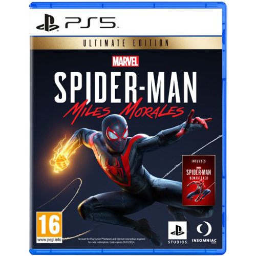 PS5 Marvel's Spider-Man: Miles Morales Ultimate Edition -peli