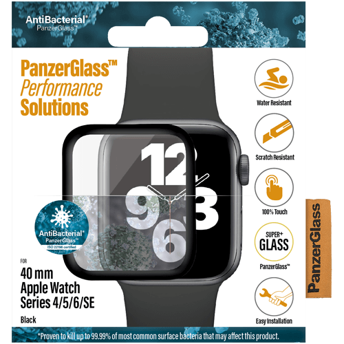 PanzerGlass Apple Watch Series 4/5/6/SE (40 mm) -suojalasi