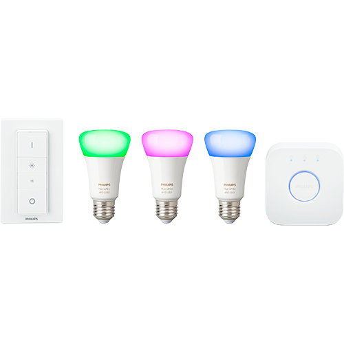 Philips Hue White and Color Ambiance -aloituspakkaus E27 10 W