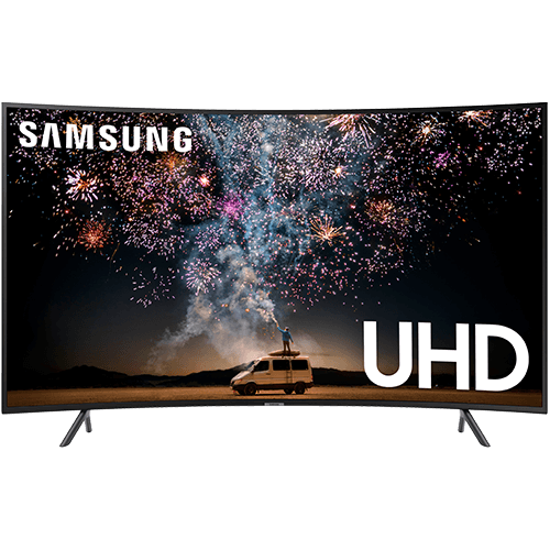 "Samsung 55"" 4K UHD HDR Curved TV"