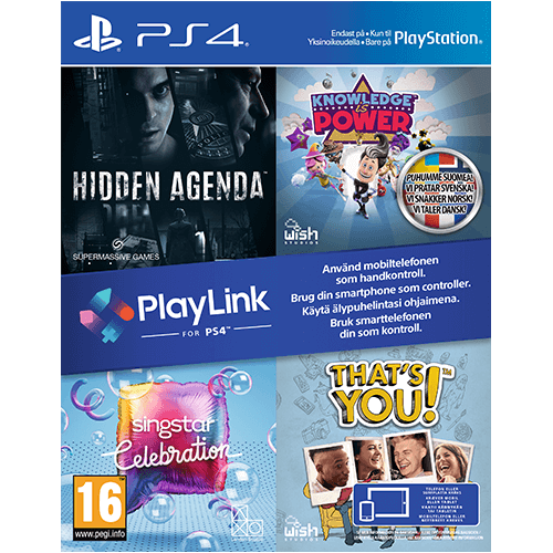PS4 PlayLink Party Pack