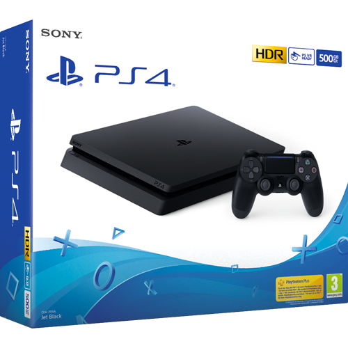 Sony PlayStation 4 500 GB -pelikonsoli