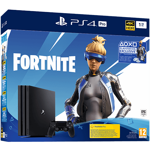 Sony PlayStation 4 Pro 1 TB Fortnite Neo Versa -konsolipaketti