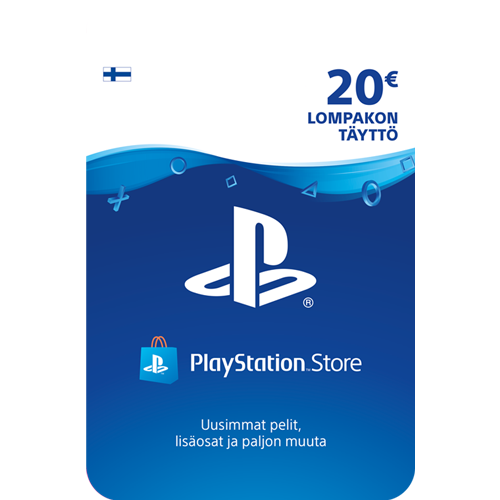 Sony PlayStation Network 20 EUR -latauskortti