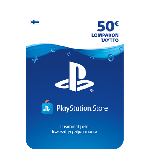 Sony PlayStation Network 50 EUR -latauskortti