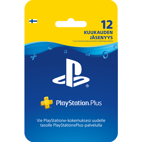 Sony PlayStation Plus 12 kk -kortti