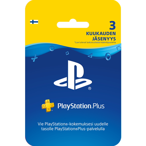 Sony PlayStation Plus 3 kk -kortti