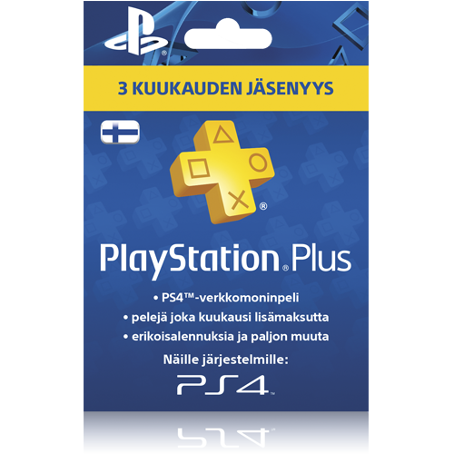 PlayStation Plus 3 kk -kortti