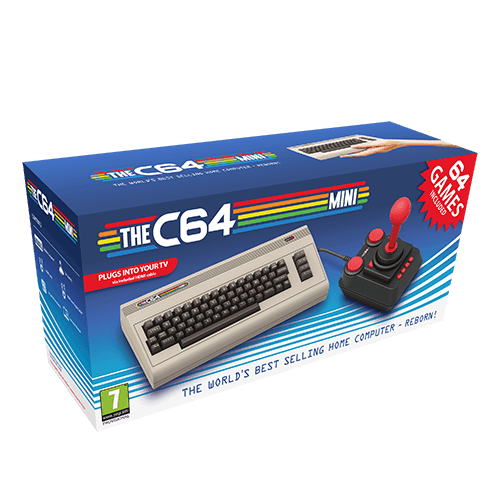 The C64 Mini -pelikonsoli