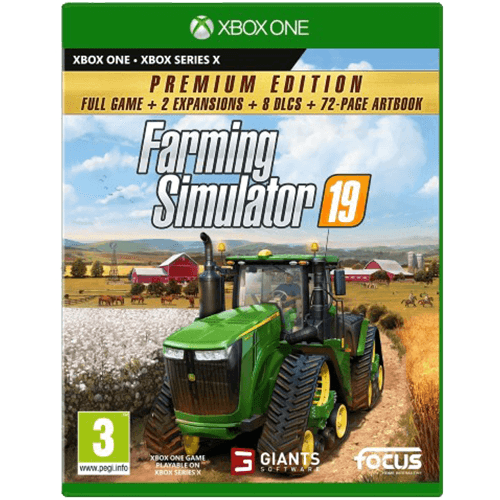 Xbox One Farming Simulator 19 Premium Edition -peli