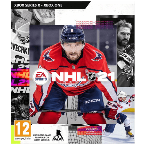 Xbox One NHL 21 -peli
