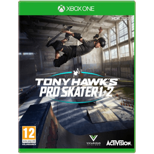 Xbox One Tony Hawk's Pro Skater 1 + 2 -peli